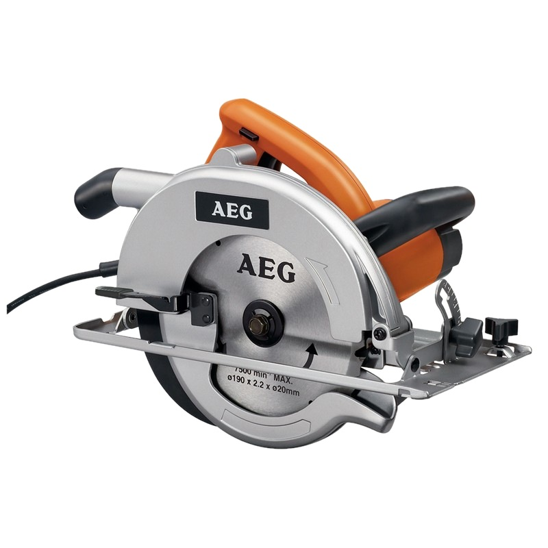AEG 190MM CIRCULAR SAW, 1500W, CS66
