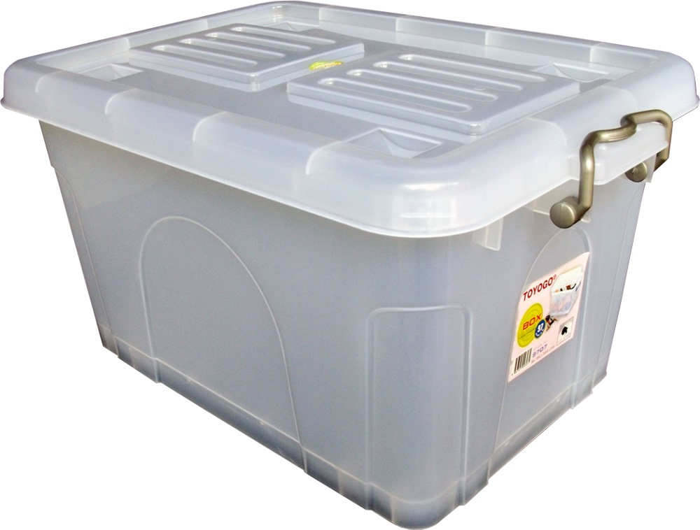 Toyogo Storage Box With Cover 58l 9709 Storage Boxes