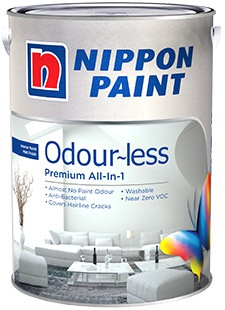 nippon paint odourless premium all in one 5 ltr horme