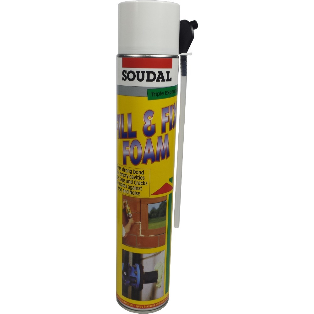 Soudal Pu Foam Sealant 750ml Sealants Horme Singapore