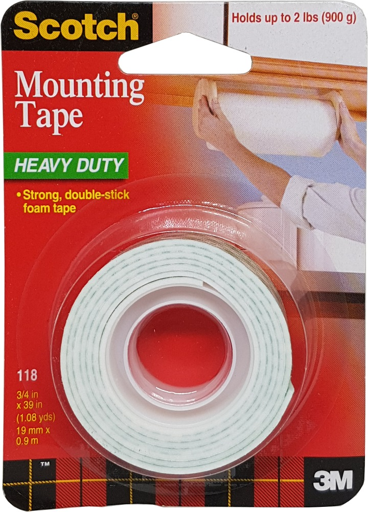 3m Scotch Mounting Tape 118 Adhesive Amp Industrial
