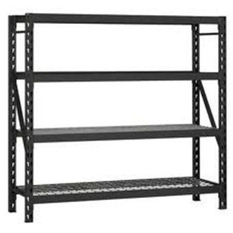 4 Shelves Hd Industrial Rack 1953h 1829w 610d Storage