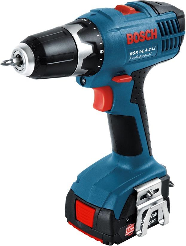 bosch 14 4v 2 0ah li ion 10mm driver drill gsr14 4 2 li cordless drills impact drivers. Black Bedroom Furniture Sets. Home Design Ideas