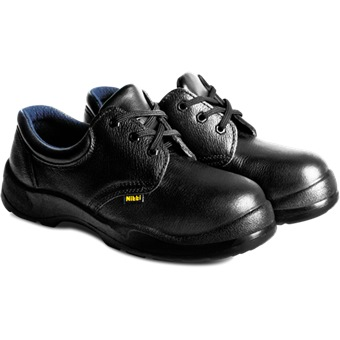 NITTI SAFETY SHOE LOW CUT WITH SHOE LACE 21281 [S1-P] | Safety Footwear | Horme Singapore