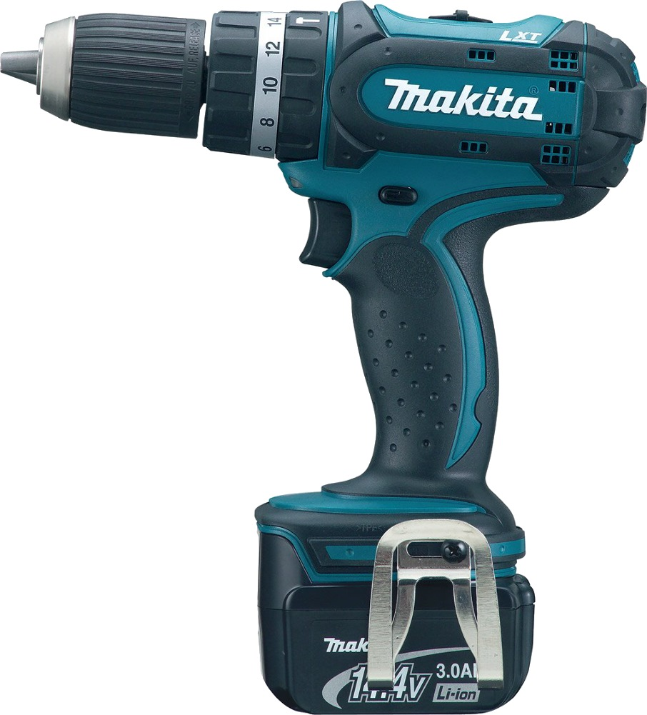 makita 14 4v li ion 13mm hammer driver drill bhp442rfe cordless drills impact drivers. Black Bedroom Furniture Sets. Home Design Ideas