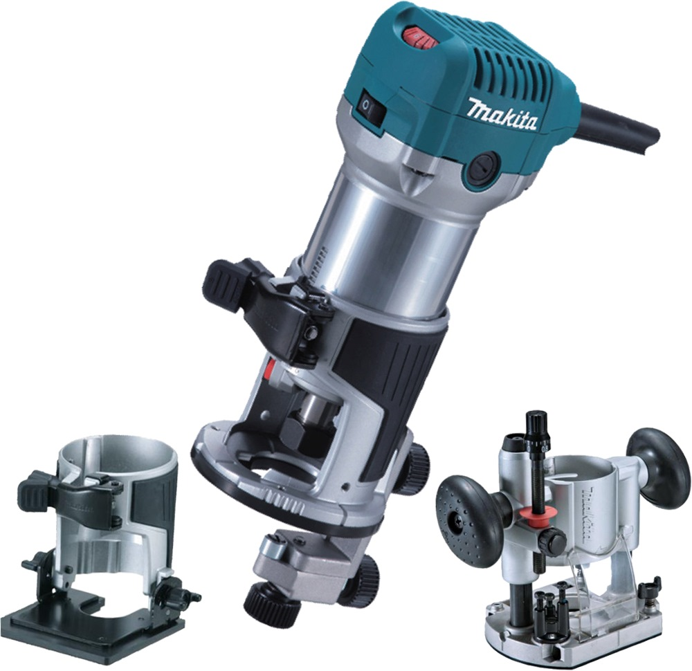 Essential kitchen tools and equipment - Makita Hand Router 710w Rt0700cx2 Corded Planers