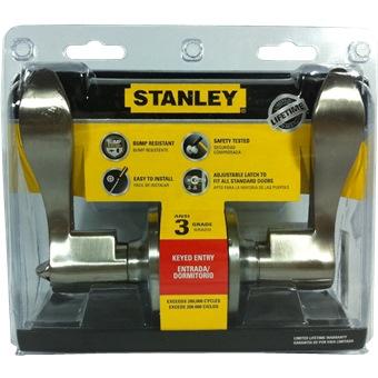 Stanley Entry Lever Lock Queen Sn S849950 Door Hardware