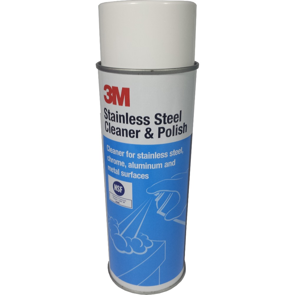 3m Stainless Steel Cleaner Amp Polish 14002 21oz 600g