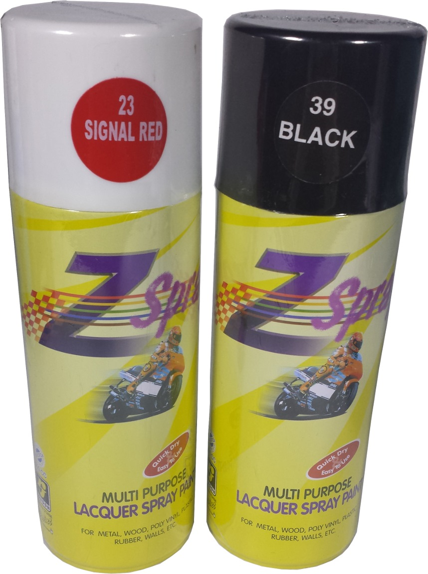 Rj Z Spray Acrylic Spray Paint 400cc Spray Paints Horme Singapore