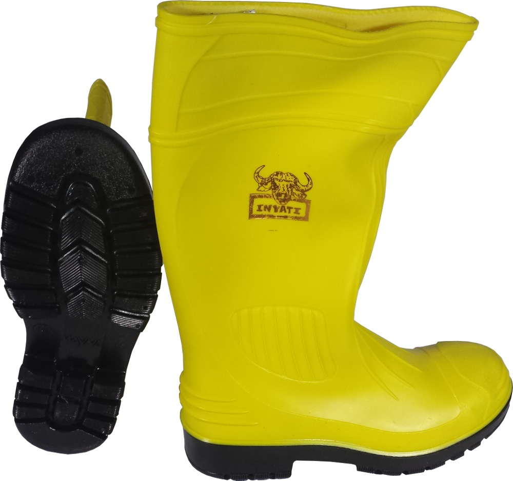 Wayne Yellow Safety Boot With Toe Cap Wy1278 Safety
