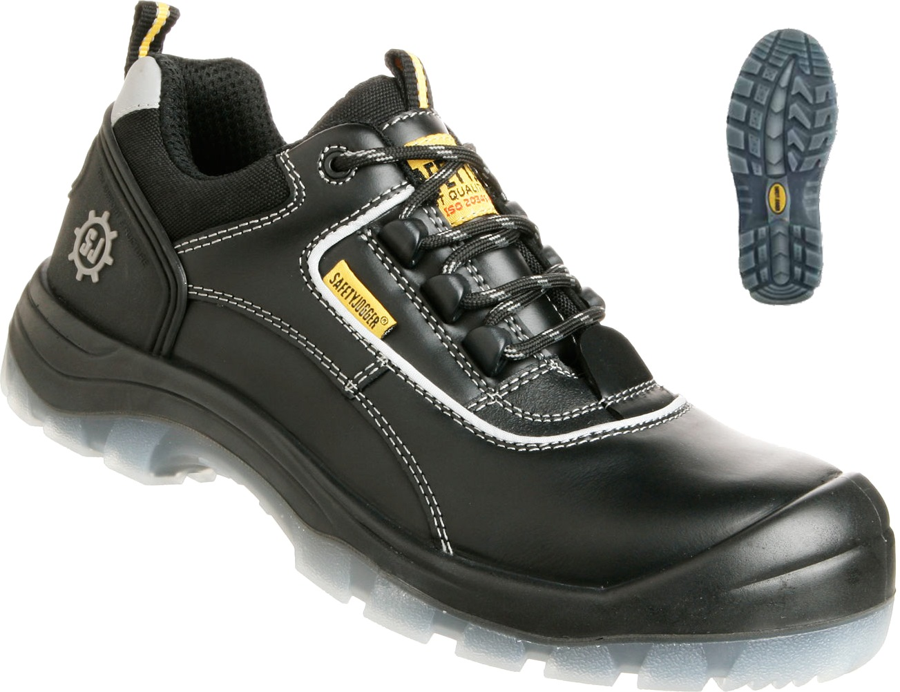 Safety Jogger Cosmos S3 Src Metal Free Safety Boot Highly Polished Boots Men's Shoes