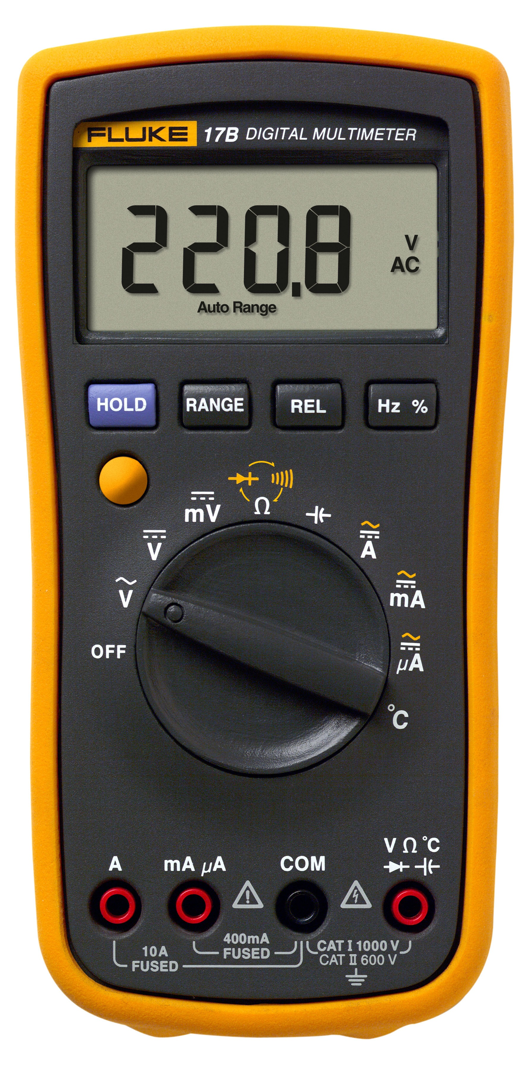 Fluke Voltmeter Tester : Fluke digital multi meter b multimeters clamp meters