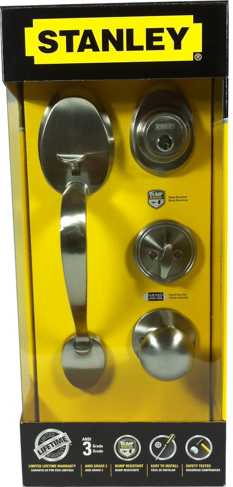 Stanley Colonial Handle Set Single Cylinder Sn S839357