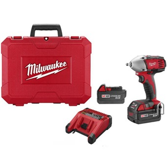 Milwaukee 18v 4 0ah Li Ion 1 2 Impact Wrench C18iw 110v