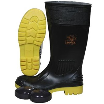 WAYNE BLACK SAFETY BOOT WITH TOE CAP WY1310 | Safety Footwear | Horme Singapore