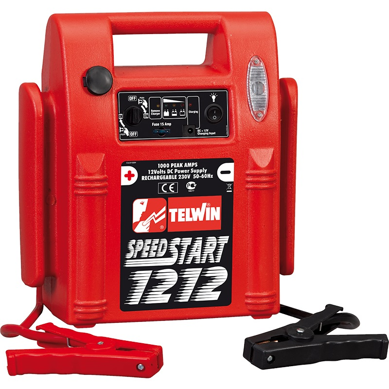 Telwin Electric Battery Jump Starter Speedstart 1212