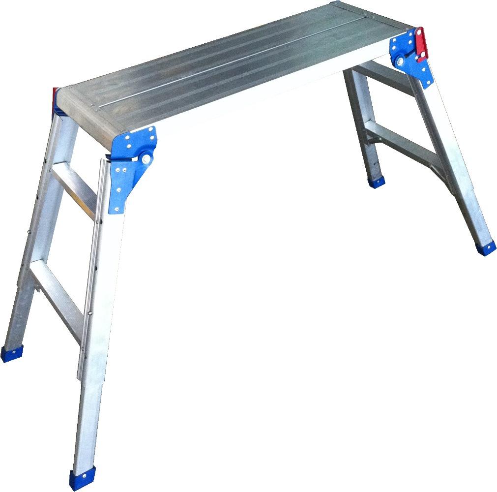 Louison Alum Adj Height Platform Ladder Lpa698 Ladders