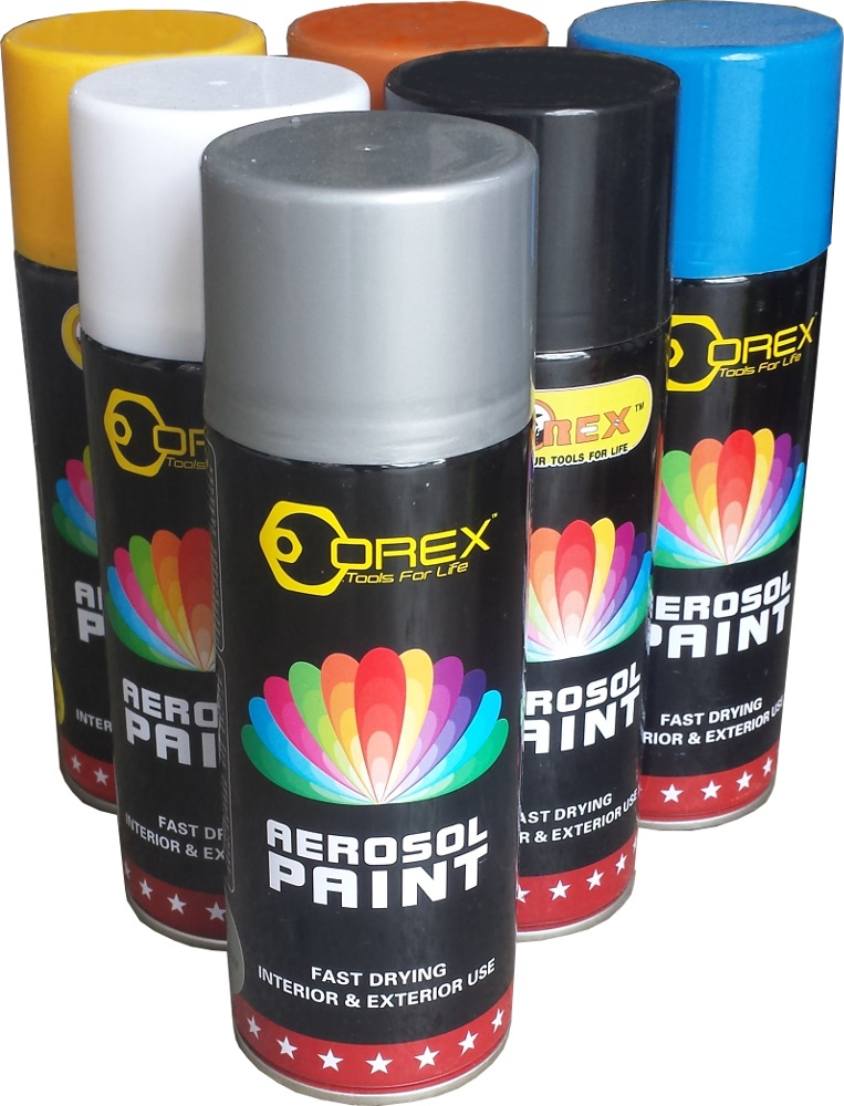 Orex spray paint 400ml spray paints horme singapore Paint with spray can