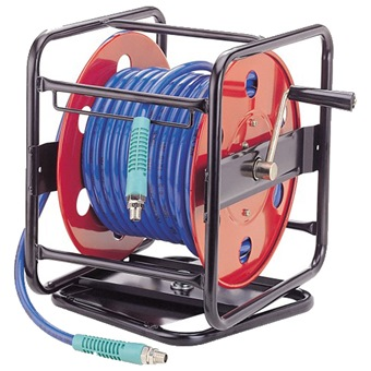GISON AIR HOSE REEL 8 5MM ID X 12 5MM OD X 30M WITH STAND GP-RB03C