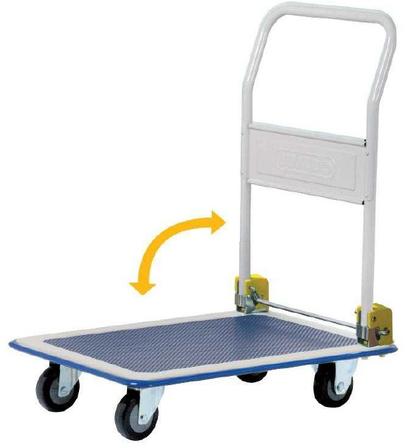 Jumbo Foldable Trolley L745 W485 H860 220kg Hl110