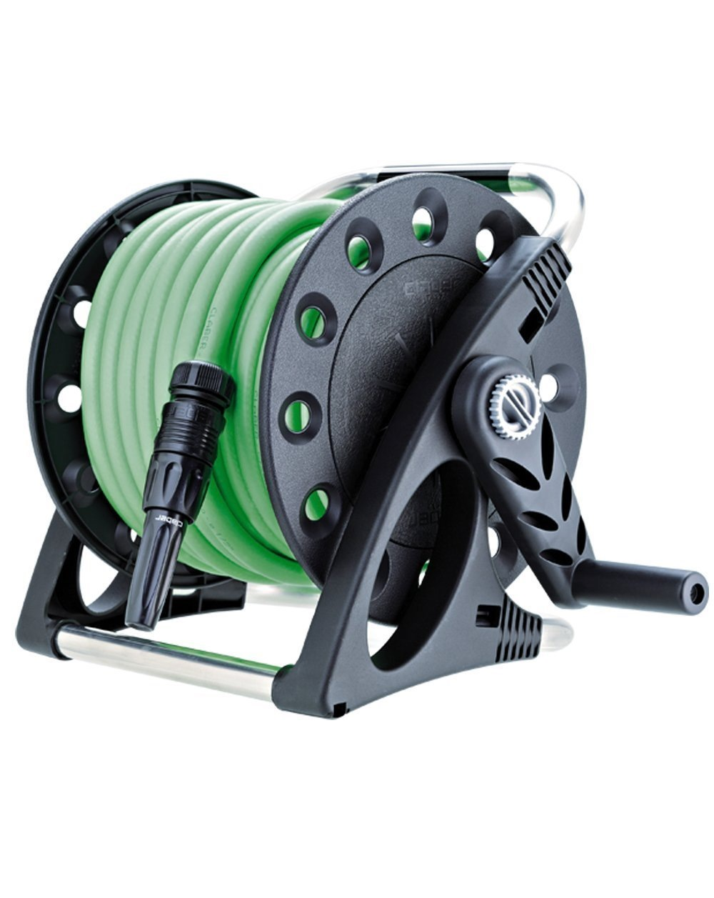 hover strongway hose garden zoom perpendicular to over parallel or mount tools product shop reels image wall reel