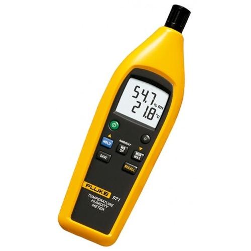 Fluke temperature meter 971 environmental tester horme for Medidor de temperatura y humedad digital