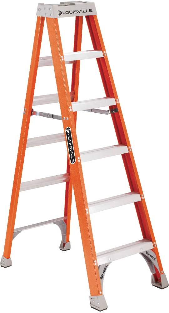 Louisville Hd Fibreglass Ladder Fs1500 Series Ladders