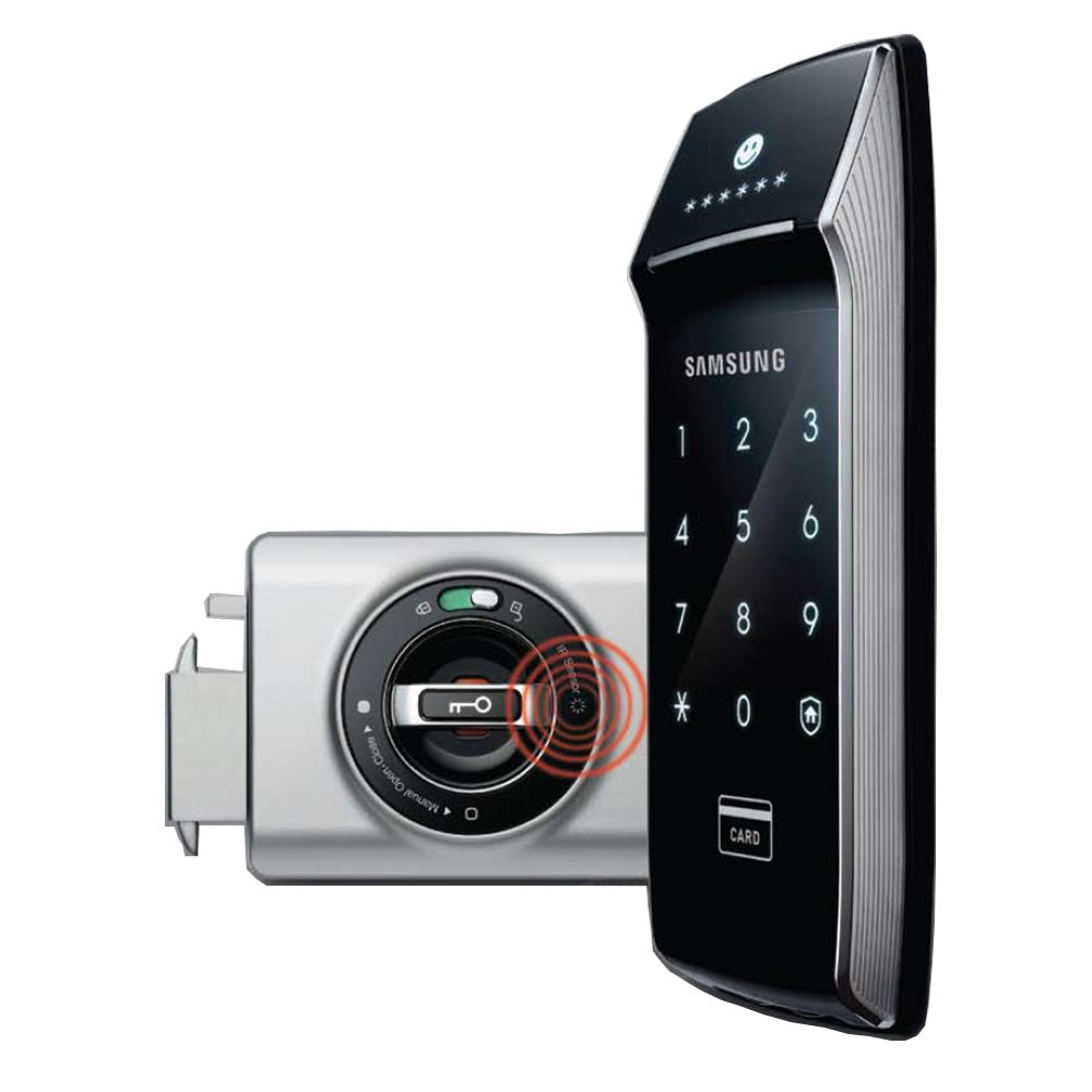 Samsung Shs 1321 Nfc Enabled Door Lock Samsung Shs 1321