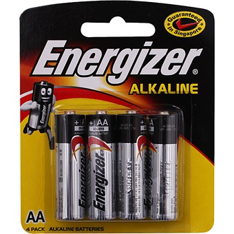 ENERGIZER AA BATTERY 4/PACK