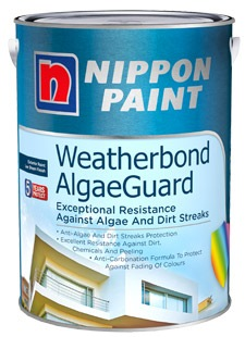 Nippon paint weatherbond algae guard 20l exterior paints - Nippon paint exterior collection ...