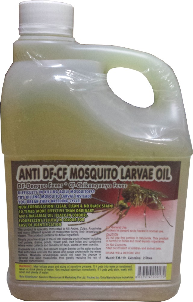 Anti Df Cf Mosquito Larvae Oil 2l Non Toxic Insect Pest Control Products Horme Singapore