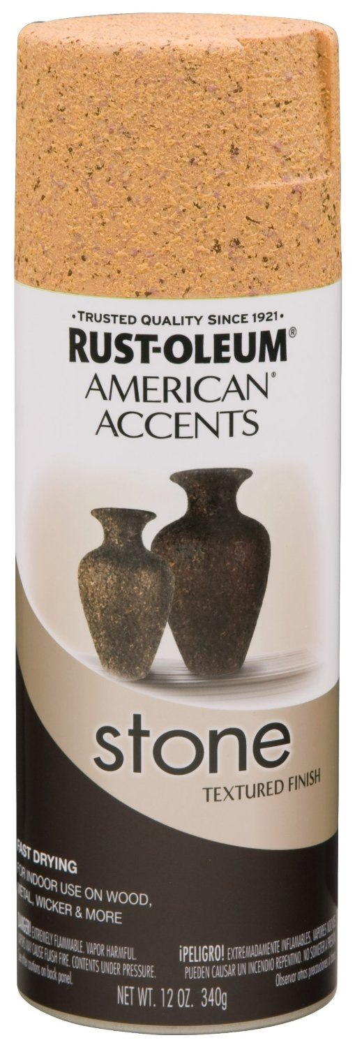 stone to any surface with rust oleum american accents stone spray this. Black Bedroom Furniture Sets. Home Design Ideas