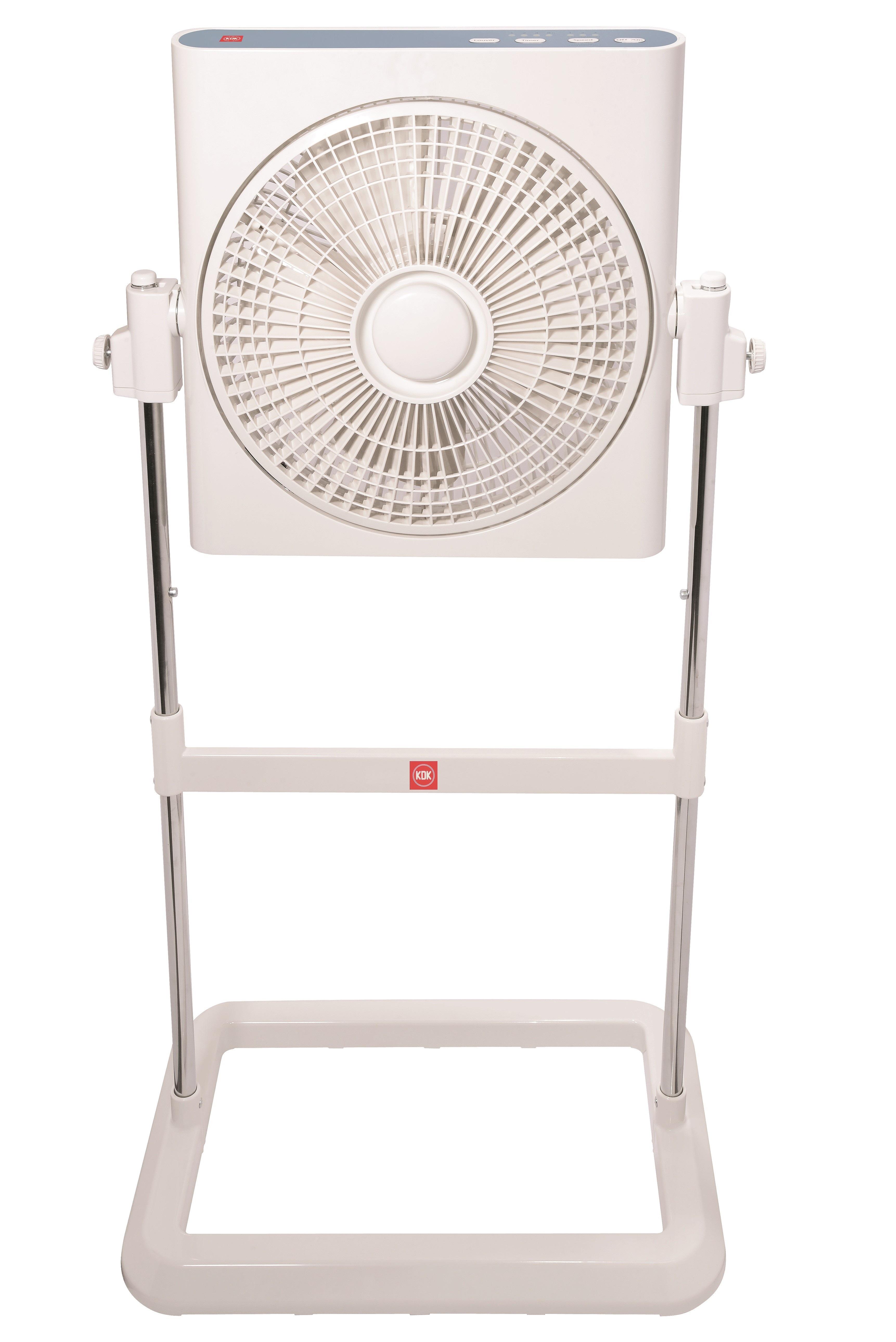 Electric Box Fan : Kdk electric box fan ss h without remote fans