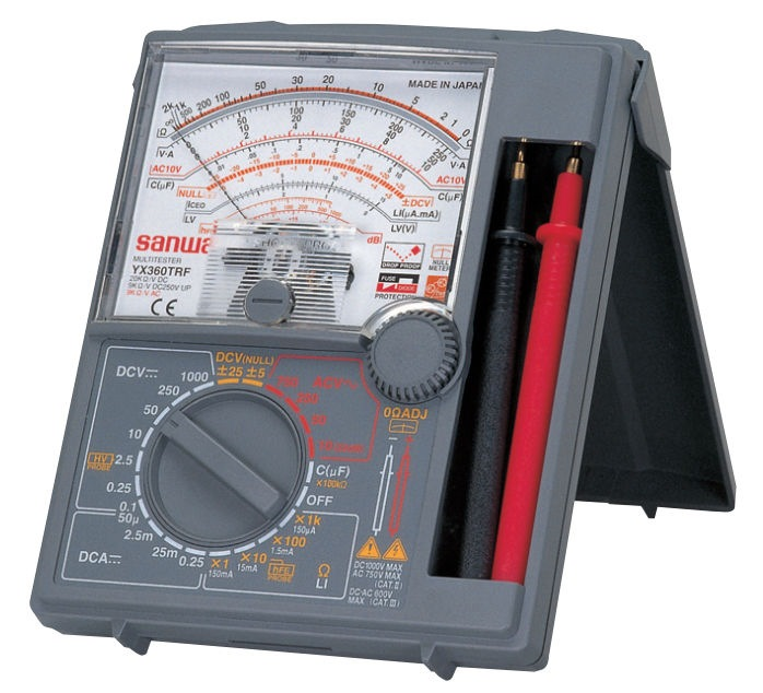 Digital Analog Multimeter : Sanwa analog multimeter yx trf multimeters clamp