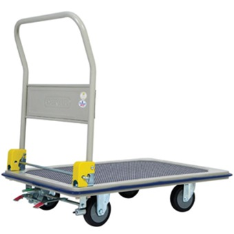 Jumbo Metal Trolley 370kg W Foot Brake L945 W615 H860 Hb210jcf