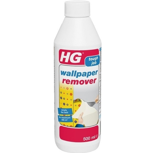 hg wallpaper remover 500ml hg308 cleaning supplies. Black Bedroom Furniture Sets. Home Design Ideas