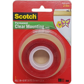Clear Mounting Tape
