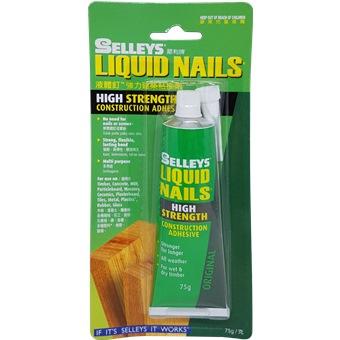Selleys Liquid Nails High Strength 75gm 106711 Adhesives