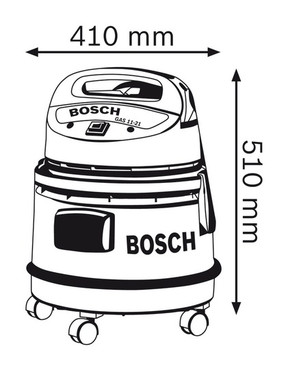 bosch wet and dry vacuum cleaner  1100w  gas 11