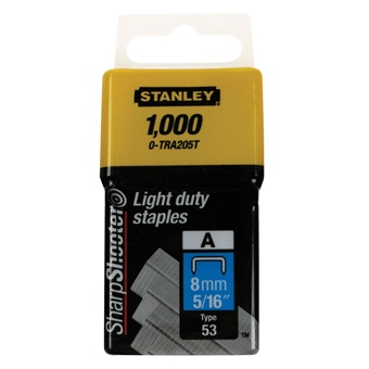 STANLEY STAPLE FOR TR45 8MM TRA205T