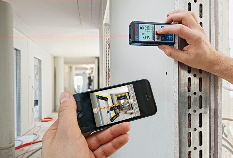 Bosch Laser Range Finder 100m Glm100c Laser Measure