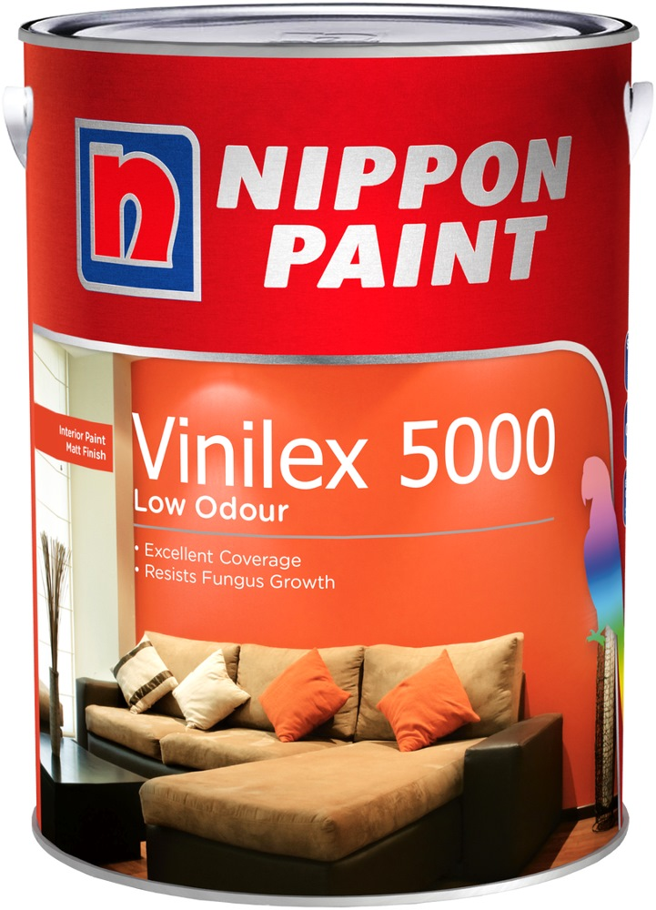 Nippon Paint Vinilex 5000 5l 1379 Colours Interior Paints Horme Singapore