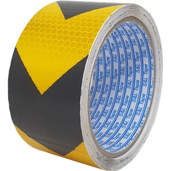 Sl Reflective Tape Yellow Amp Black Dot With Arrow 2