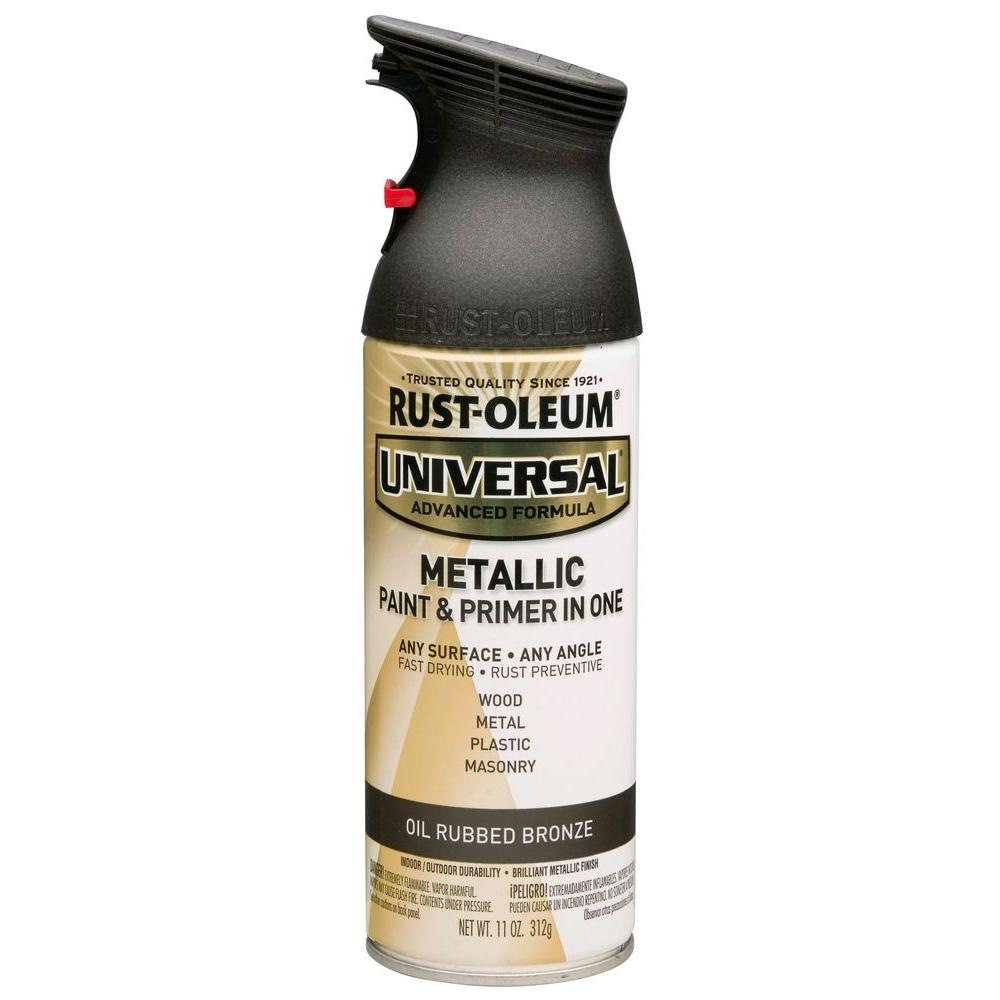 Rust Oleum Universal Metallic Spray Paint Oil Rubbed