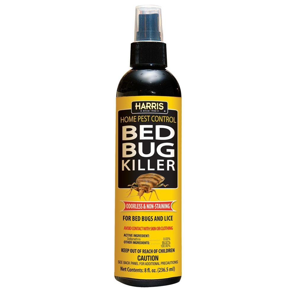 HARRIS BED BUG & LICE KILLER SPRAY 8OZ (PF-HBB-8) | Insect ...