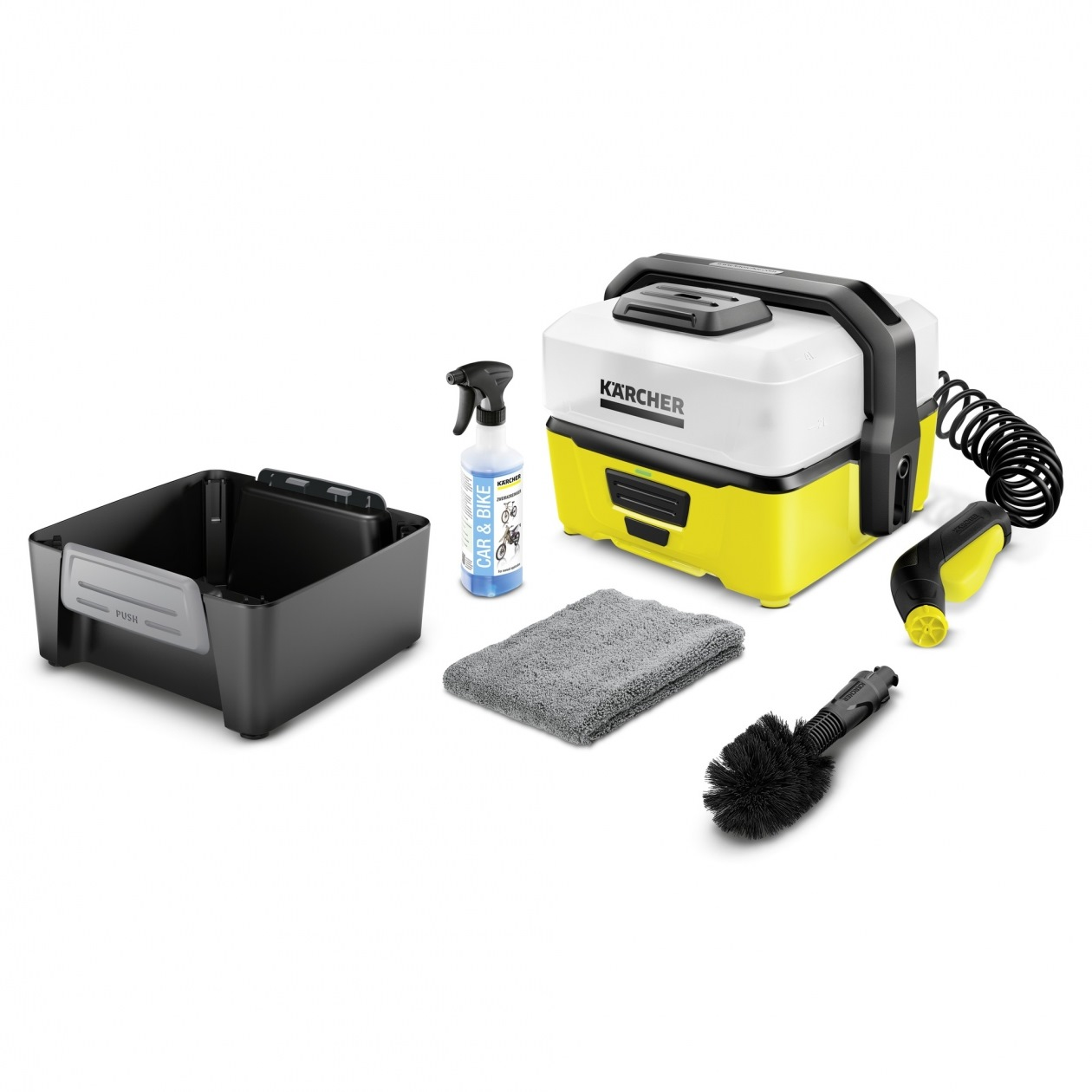 karcher 5 bar oc3 battery high pressure cleaner pressure washers horme singapore. Black Bedroom Furniture Sets. Home Design Ideas