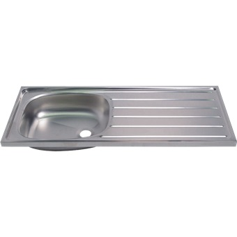 SHOWY STAINLESS STEEL SINK (42