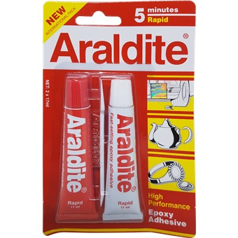 Araldite Rapid 5 Minutes Red Adhesives Amp Glues Horme Singapore