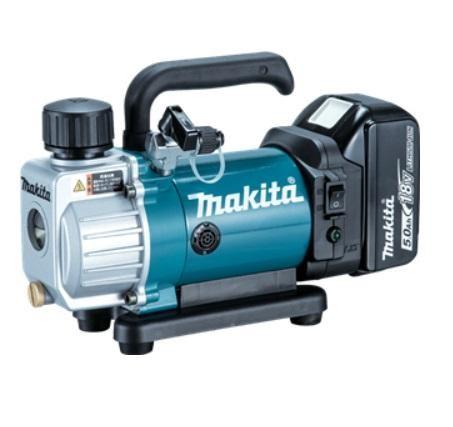 makita 18v 1x5 0ah li ion air cond vacuum pump dvp180rt. Black Bedroom Furniture Sets. Home Design Ideas