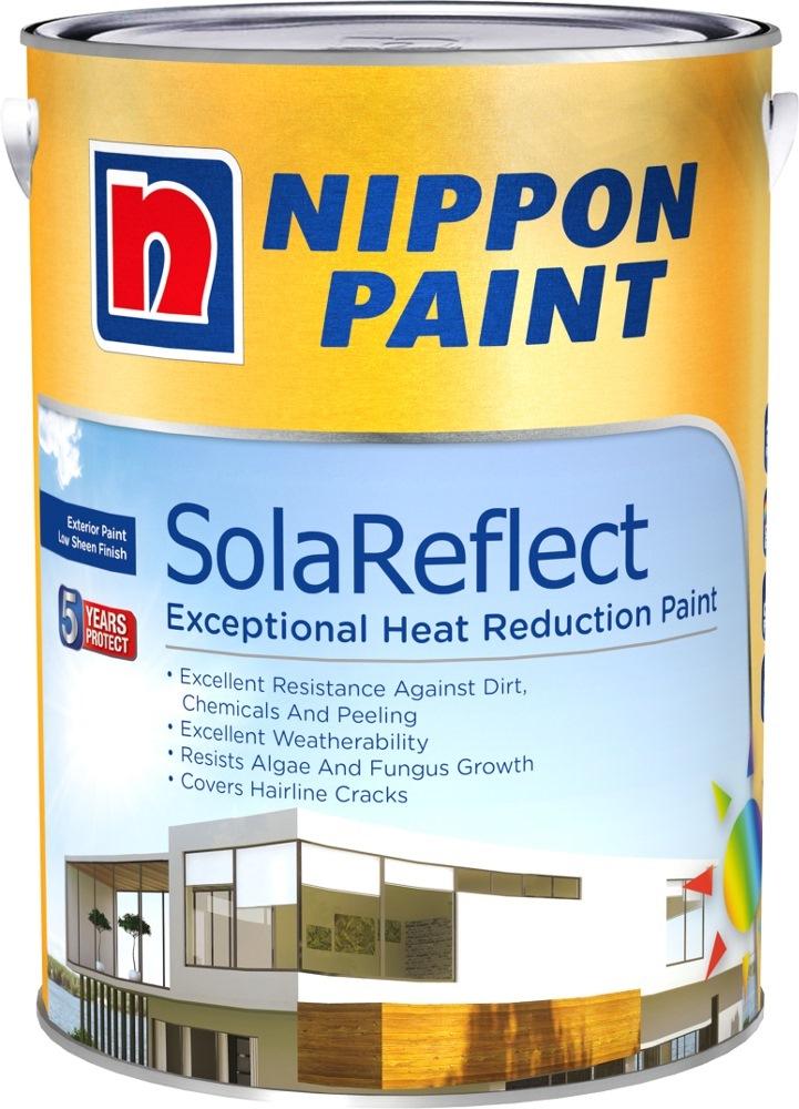 Nippon paint solareflect 20l 40 colours exterior - Nippon paint exterior collection ...